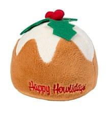 FuzzYard Plum Pudding Christmas Dog Toy
