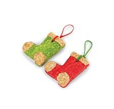 Kazoo Hanging Munchy Boots Christmas Dog Treats (2 Pack)