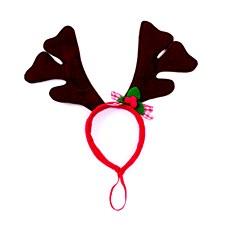Kazoo Reindeer Antlers Large Christmas Dog Toy