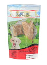 Yummi Australian Beef Tendons 150g Dog Treats