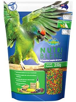 Vetafarm Nutri Blend Small Pellets 350g Bird Food