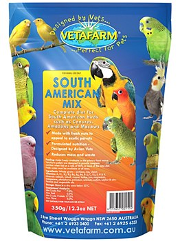 Vetafarm South American Mix 350g Bird Food