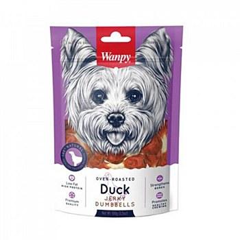 Wanpy Duck Jerky Dumbbells 100g Dog Treats