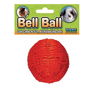 Critter Ware Bell Ball 100mm Small Pet Toy