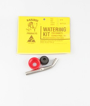 Kariboo Watering Kit for Rabbits and Guinea Pigs 250ml