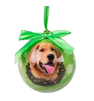 Swish Collection Christmas Bauble Golden Retriever