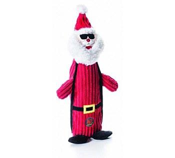 Charming Pet Bottle Santa 44cm Christmas Dog Toy