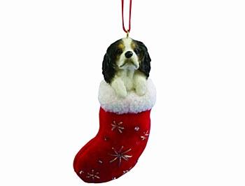 Swish Collection Christmas Tree Decoration King Charles Spaniel Tri Colour 8cm