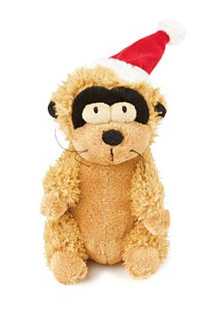 FuzzYard Mimi Meerkat Small Christmas Dog Toy