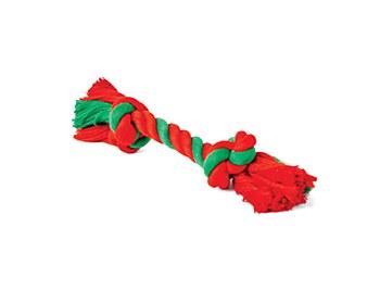 Kazoo Rope Knot Bone Small Christmas Dog Toy