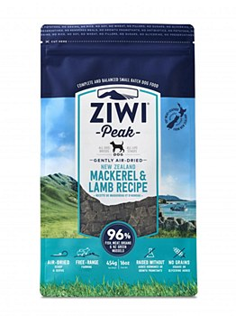 Ziwi Peak Air Dried Mackerel & Lamb 454g Dry Dog Food