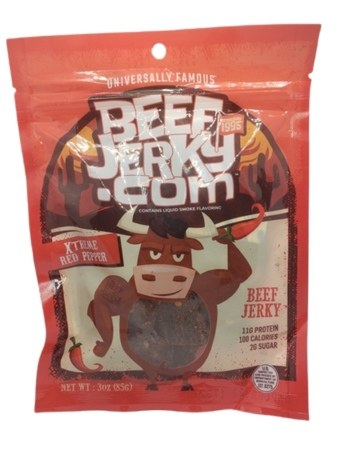 Xtreme Red Pepper Jerky