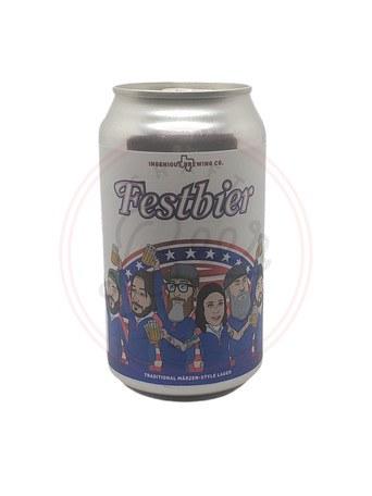 Festbier - 12oz Can