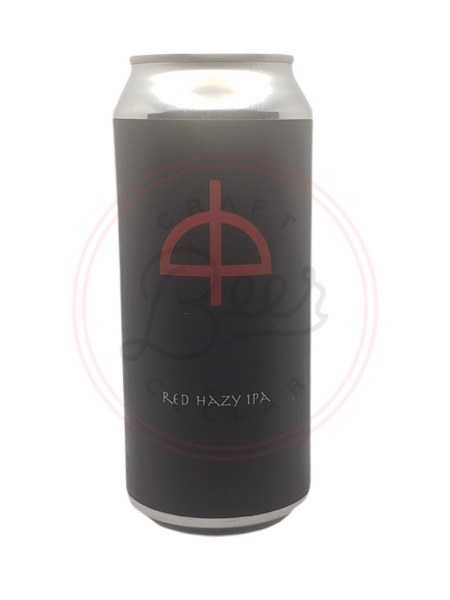 Red Hazy Ipa - 16oz Can