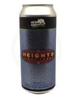 Heights Light Lager - 16oz Can