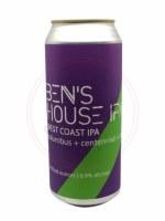 Ben's House - 16oz Can