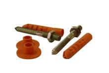 Bidet WC Screw Set 12mm NHT120