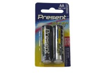 Battery AA 2-Pack 1.5V Present