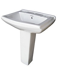 Wash Basin and Pedestal expens