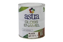 Paint Gloss Enamel Black 1L