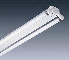 4Ft Double Flourescent Fitting