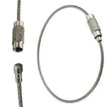 Aircraft Cable EDC Key Ring