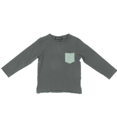 TEXTURED POCKET TEE
