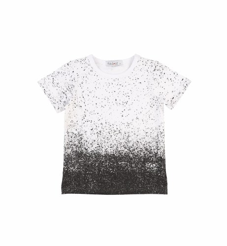 OMBRE DOTTED TEE