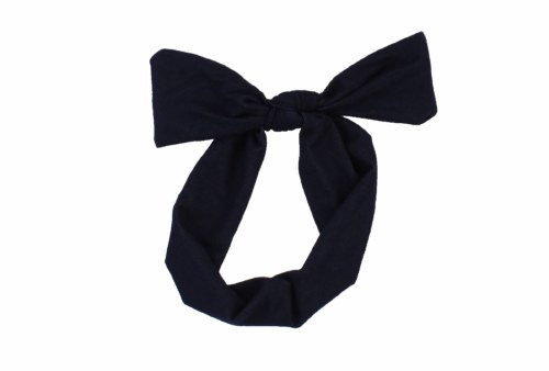 DENIM BOW BAND
