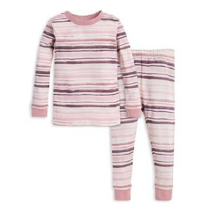 WATERCOLOR STRIPE PAJAMAS