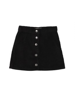 CORDUROY BUTTON SKIRT