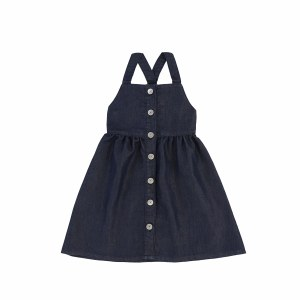 DENIM PINAFORE JUMPER