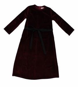 VELOUR MAXI DRESS