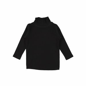 STITCHED TURTLENECK