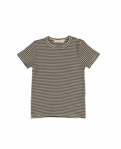 RIBBED STRIPE TEE