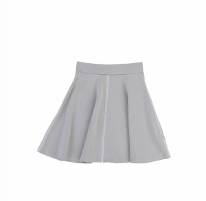 WHITE STITCH SKIRT