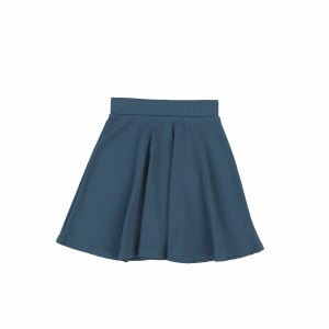 RIBBED ALINE SKIRT
