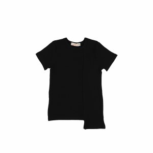 2 DIRECTION RIBBED TEE