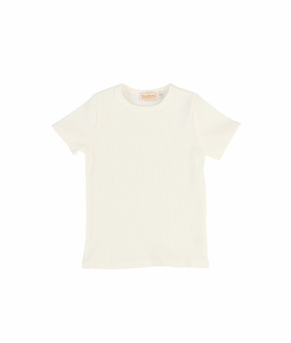 SOLID RIBBED TEE