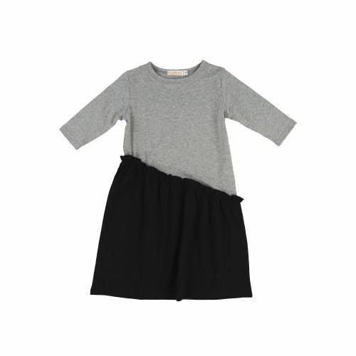ASSYMETRICAL RUFFLE DRESS