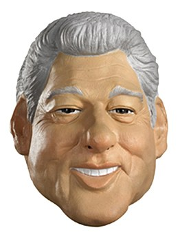 Bill Clinton Deluxe Mask