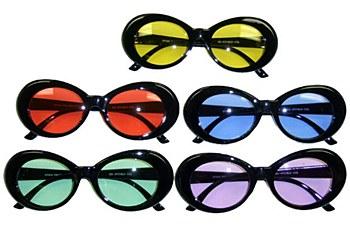 Mod Jackie Color Lens Sunglasses