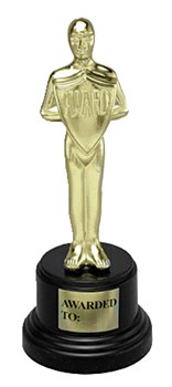 Award Trophy Oscar Man