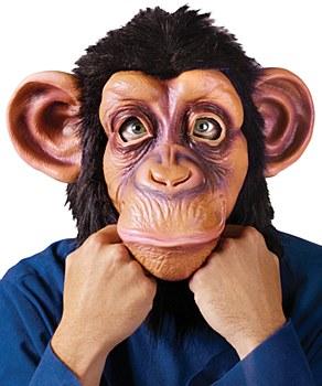 Chimpanzee Furry Mask