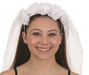 Bride Veil Headband