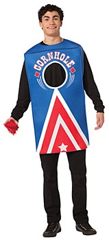 Cornhole Game Adult Costume