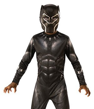 Black Panther Latex Child Mask