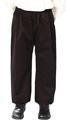 Renaissance Boy Child Black Pants / Knickers