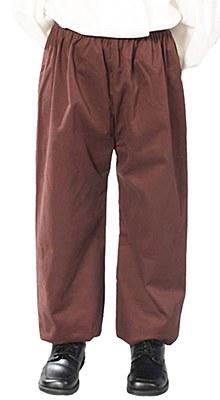 Renaissance Boy Child Brown Pants / Knickers