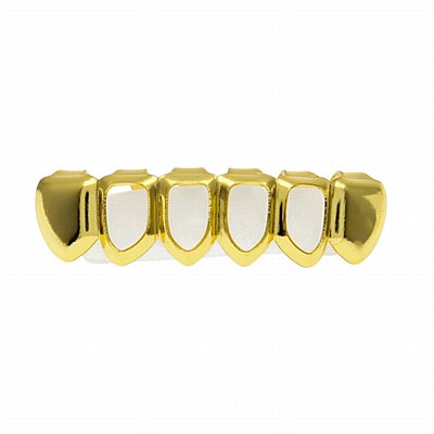 Hip Hop Gold Lower Grill Caps